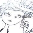 画像4: バーコでポコモリ 凹凸ぬり絵ノート  マリーアントワネット (4)