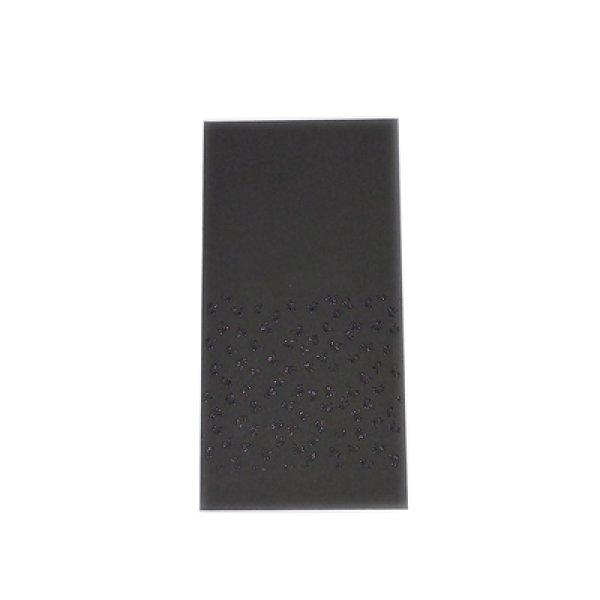 画像1: 印傳のような紙のお祝い袋【勝ち虫】黒 (1)